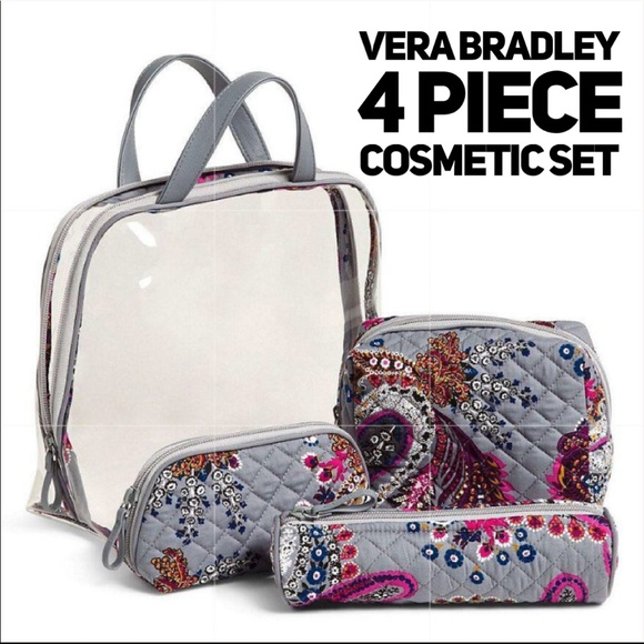 Heritage Paisley Iconic 4-Piece Cosmetic Set a1962f7a53c7b
